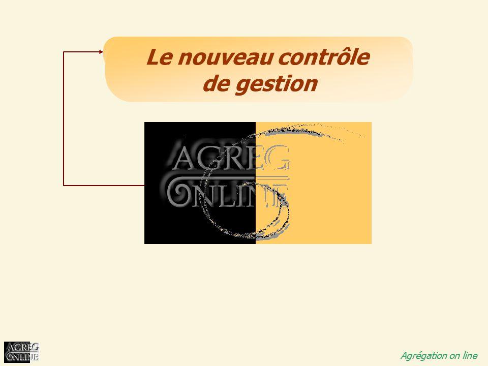 Titre Général Agrégation on line Le nouveau contrôle de gestion Agrégation on line