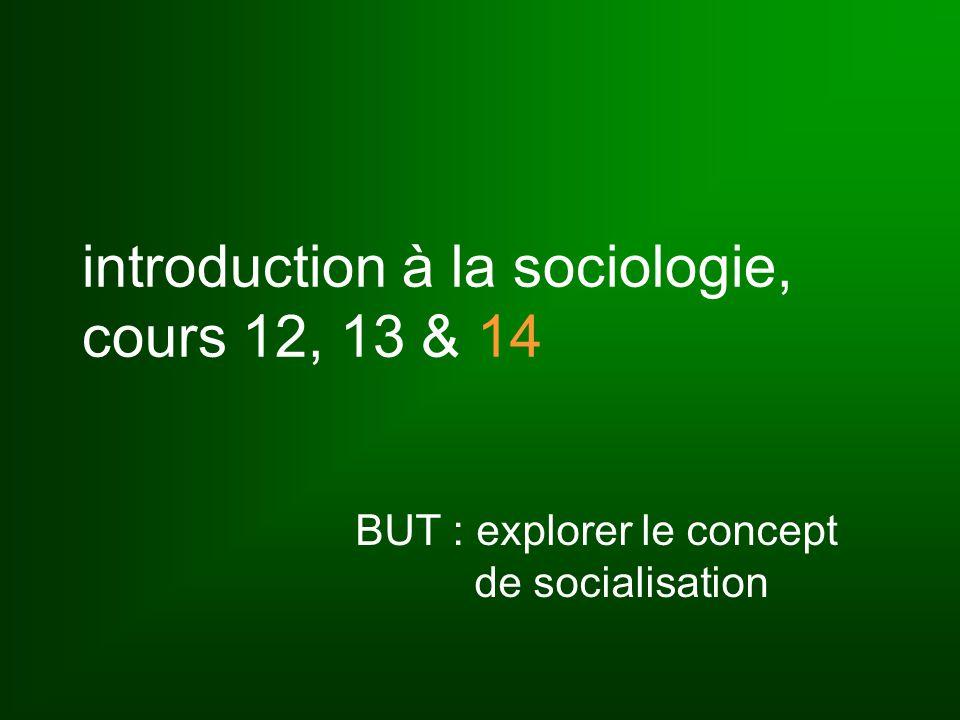 les trois étapes de la socialisation (Mead) interaction, dialectique entre les deux faces du Soi : le Je et le Moi JeMoi Soi