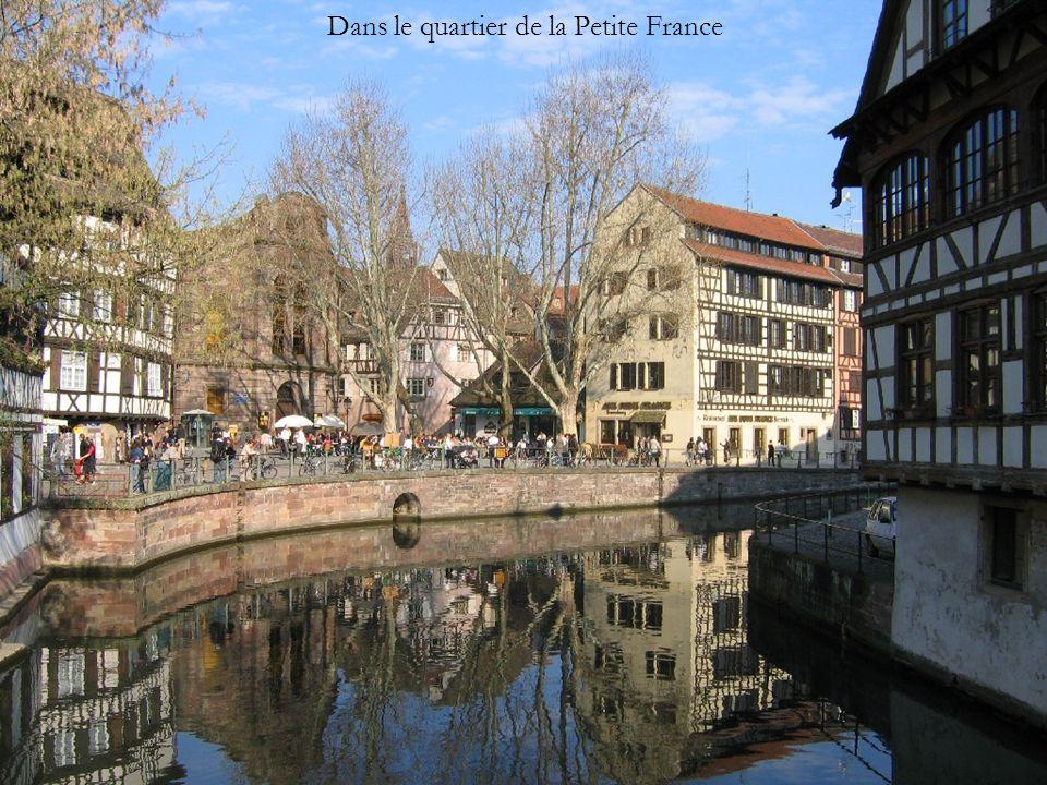 Dans le quartier de la Petite France