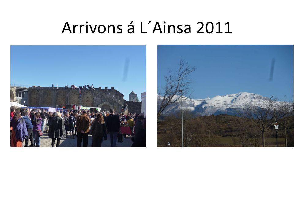 Premiéres Journées à Ainsa: 4 y 5 Février 2011 Des Organisations de l´Aragon, Navarre, Catalogne et le Pays Basque de l´Espagne sont rencontré pour discuter de la possibilité de lever un projet de développement durable et de Valorisation des Montagnes des Pyrénées, financé par l Union européenne et les Etats de la France et l Espagne.