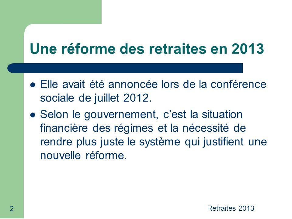 23 Projet gouvernemental Pas de réforme systémique.