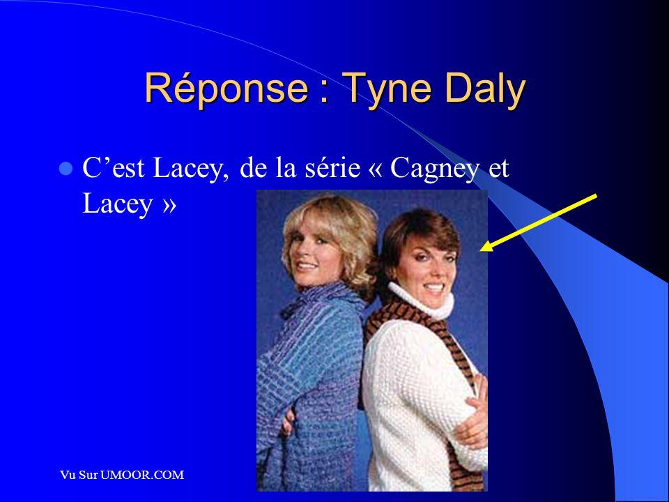 Vu Sur UMOOR.COM Réponse : Tyne Daly C'est Lacey, de la série « Cagney et Lacey »