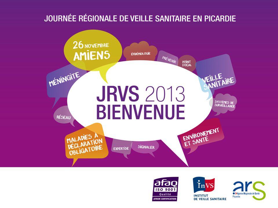 LA CERTIFICATION ISO 9001 des activités de Veille Sanitaire au sein de l'ARS de Picardie Virginie LE ROUX (IGS) - ARS de Picardie