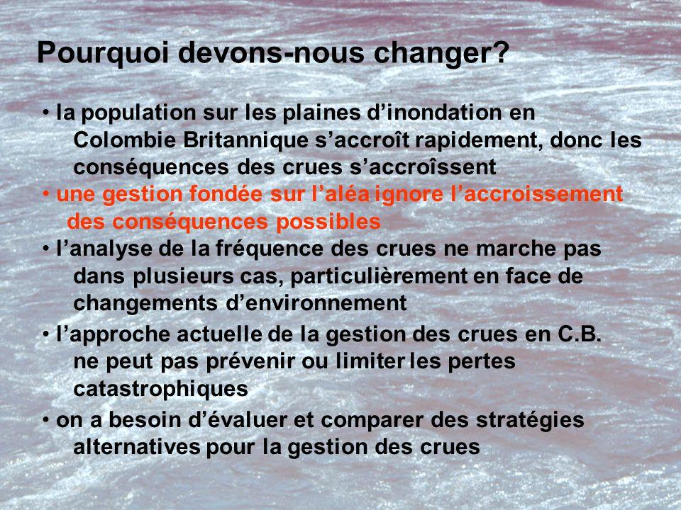 Pourquoi devons-nous changer.