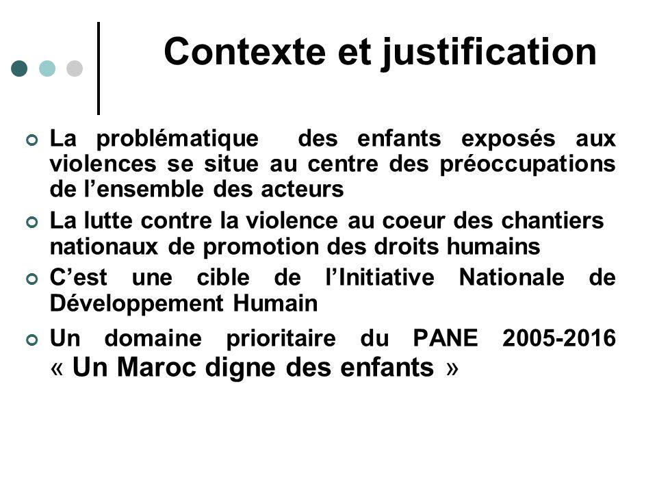 Violences physiques Abus sexuels Abandon: près de 30.000 au Maroc Travail des enfants: 600 000 enfants, âgés de 6 à 15 ans Enfants de la rue: 14 000 à 234.
