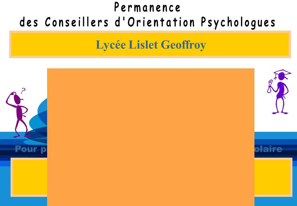 Lycée Lislet Geoffroy Au CIO de Saint-Denis 5 rue du Maréchal Leclerc 02 62 21 18 81 MardiMardi 13H30-16H30 Anne MarciniakAnne Marciniak JeudiJeudi 8H