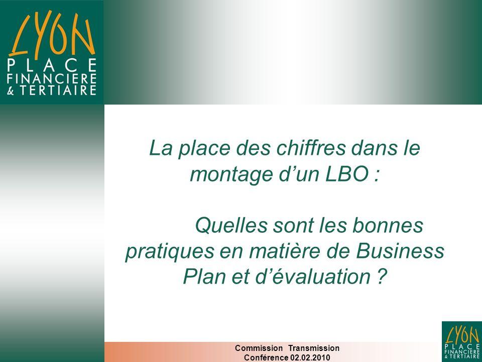 La place des chiffres dans le montage d'un LBO : Quelles sont les bonnes pratiques en matière de Business Plan et d'évaluation .
