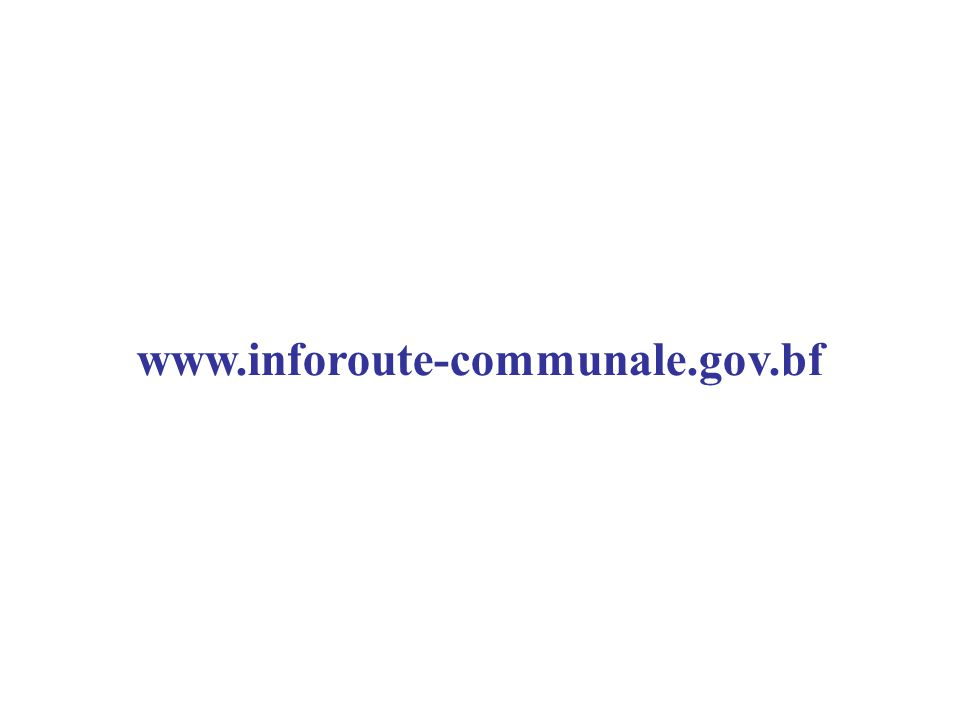www.inforoute-communale.gov.bf