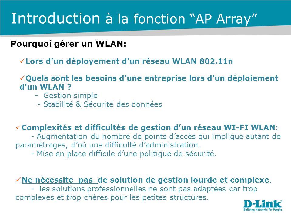 Quels sont les besoins d'une entreprise lors d'un déploiement d'un WLAN ? - Gestion simple - Stabilité & Sécurité des données Complexités et difficult