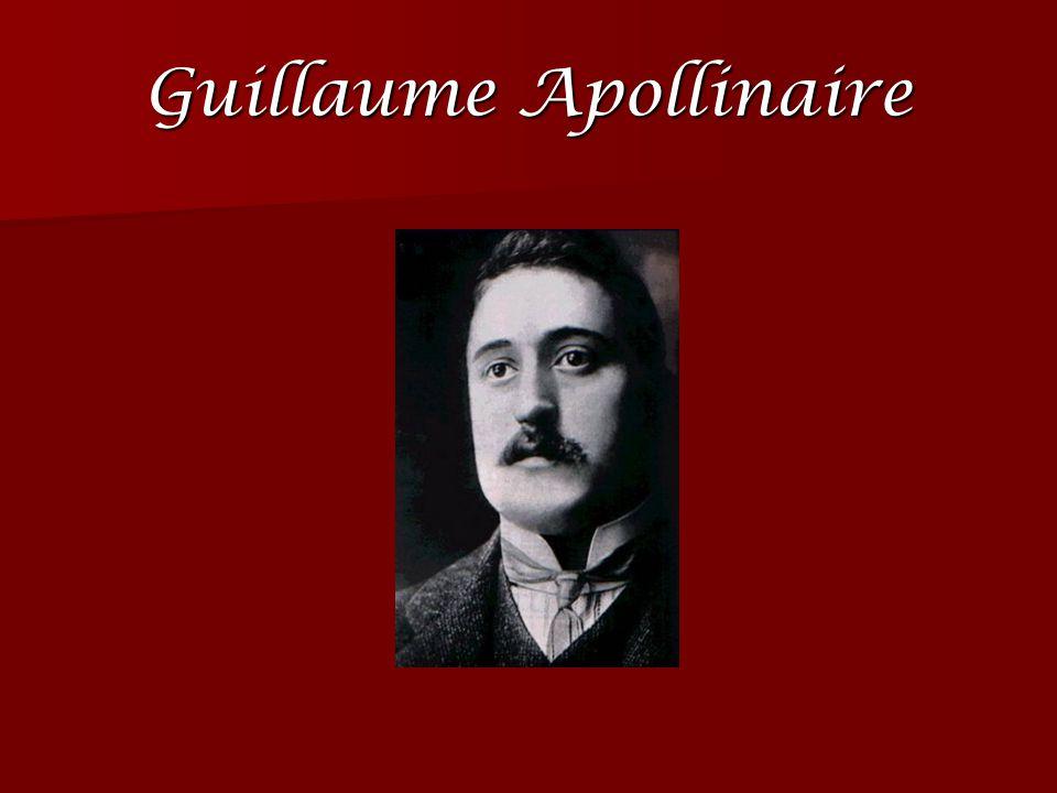 La période Parisienne Guillaume Apollinaire commence à publier des contes et des poèmes.