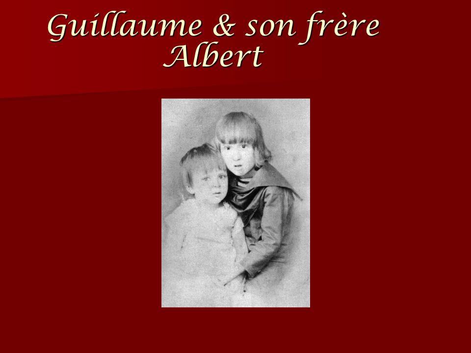 Guillaume & son frère Albert