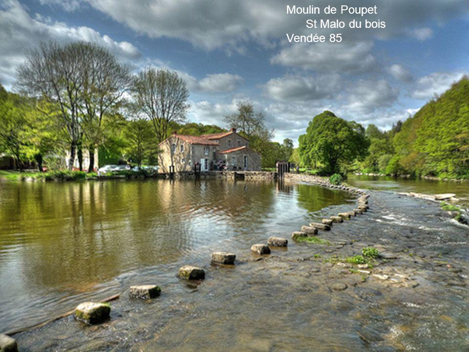 Moulin de Poupet St Malo du bois Vendée 85