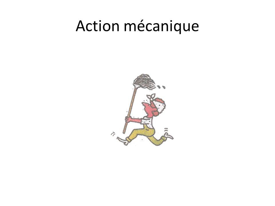 Action mécanique