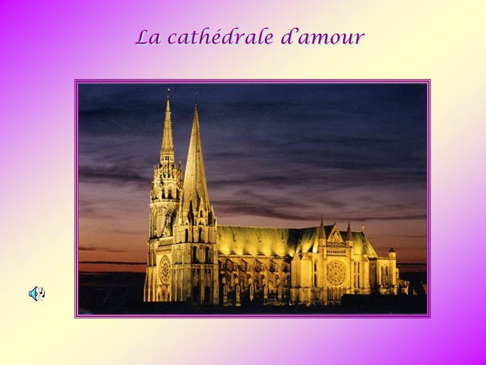 Sommes-nous encore capables aujourd hui de bâtir une cathédrale telle que cette merveilleuse cathédrale de Chartres .