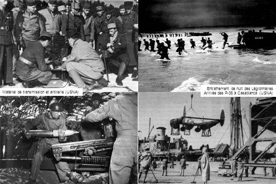 Infiltrations ennemies Jusqu'au débarquement du 8 novembre 1942, la présence des commissions d'armistice allemandes et italiennes permettent à l'Axe d'entretenir un réseau d'espions et d'indicateurs en AFN.