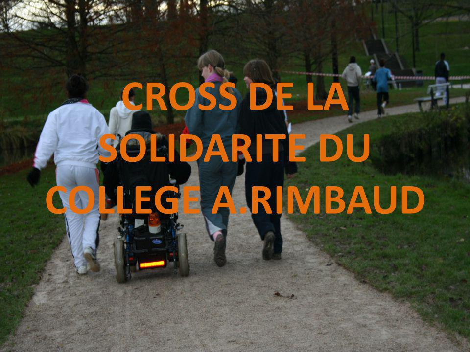 CROSS DE LA SOLIDARITE DU COLLEGE A.RIMBAUD