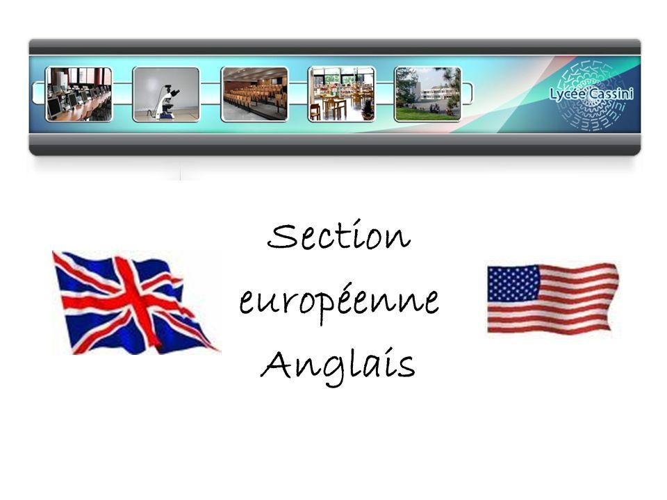 Section européenne Anglais