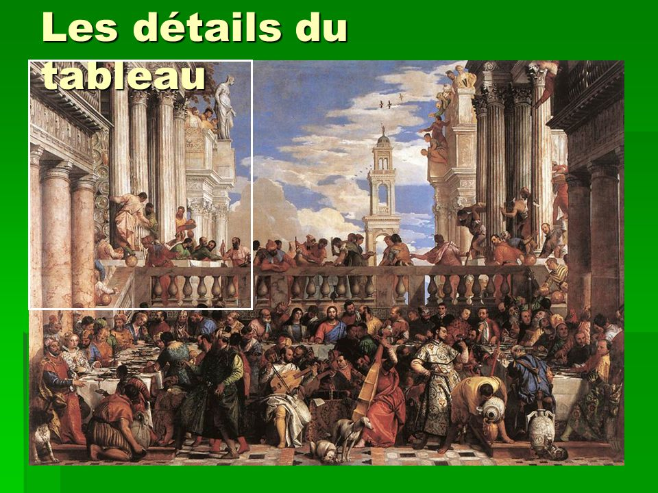 Les détails du tableau