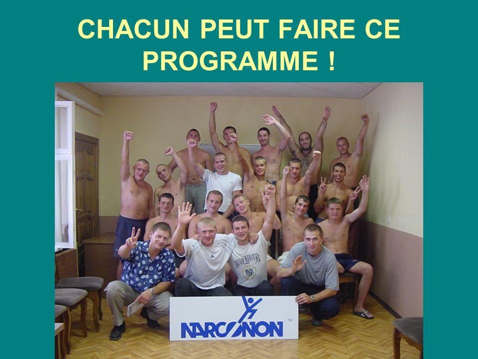 CHACUN PEUT FAIRE CE PROGRAMME !