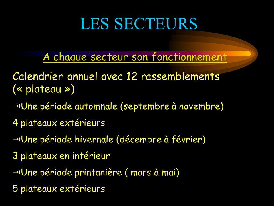 L'ORGANISATION Les caractéristiques de notre département… 8SECTEURS : A : 7 clubs B : 8 clubs C : 12 clubs D : 14 clubs E : 8 clubs F : 10 clubs G : 1