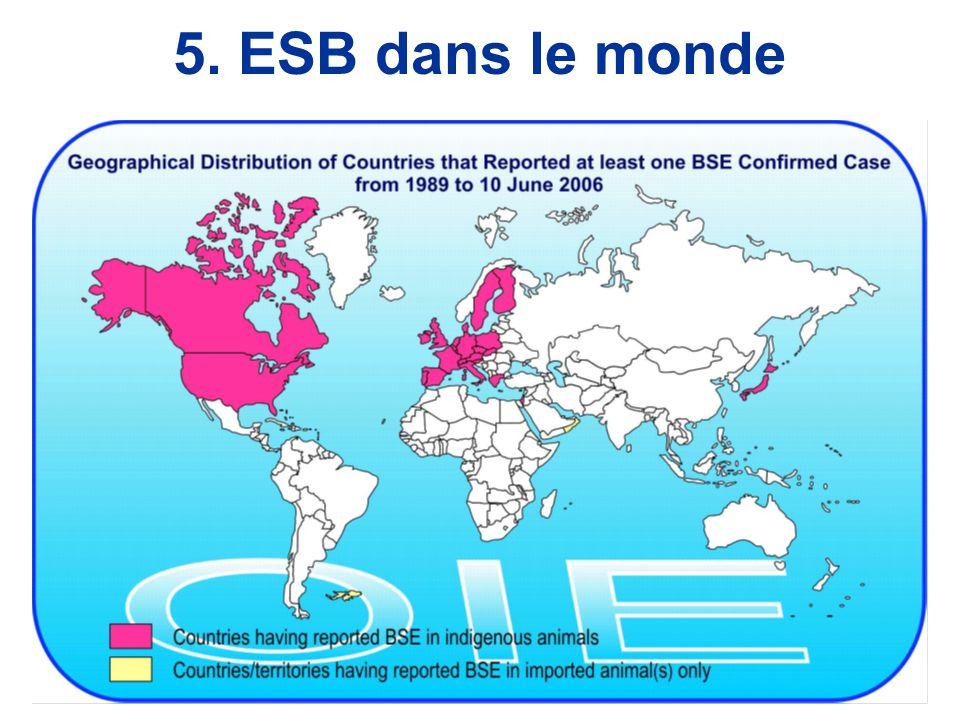 5. ESB dans le monde