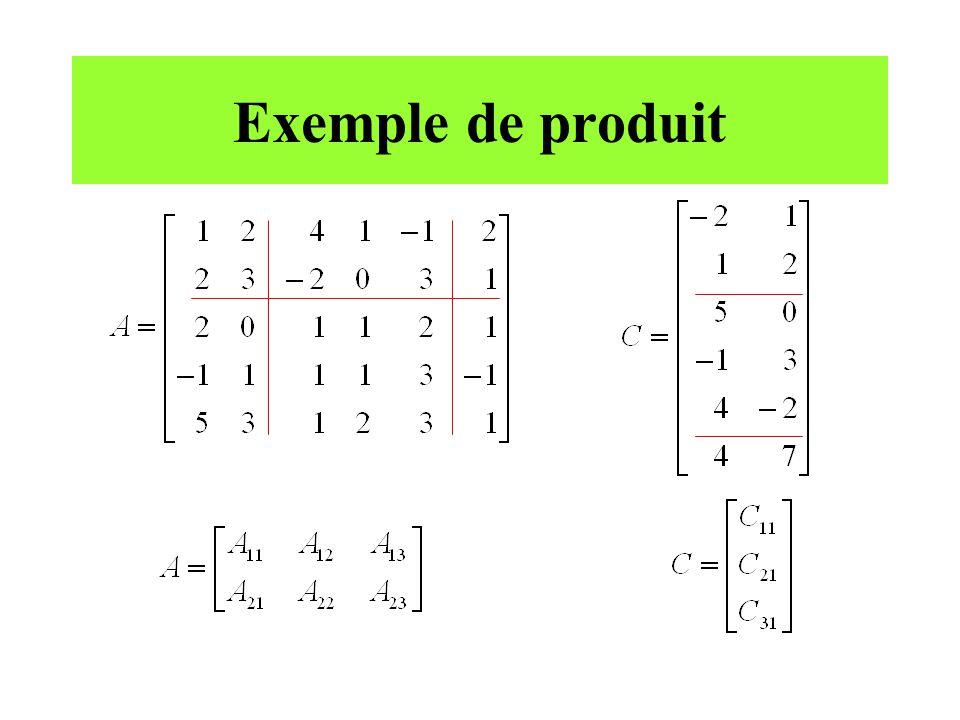 Exemple de produit