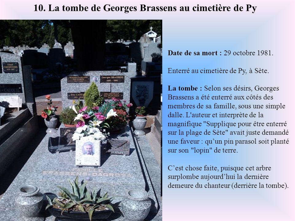 Date de sa mort : 13 février 2008. Enterré au cimetière du Père Lachaise, Paris. La tombe : Henri Salvador a choisi de reposer dans la simplicité, aux