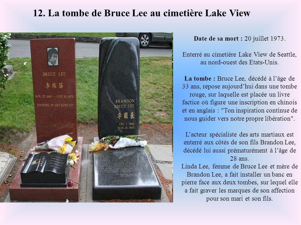 Date de sa mort : 21 octobre 1984. Enterré au cimetière Montmartre, Paris. La tombe : La tombe de François Truffaut est toute simple, mais ses visiteu
