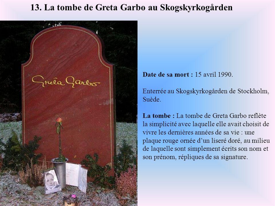 Date de sa mort : 20 juillet 1973. Enterré au cimetière Lake View de Seattle, au nord-ouest des Etats-Unis. La tombe : Bruce Lee, décédé à l'âge de 33
