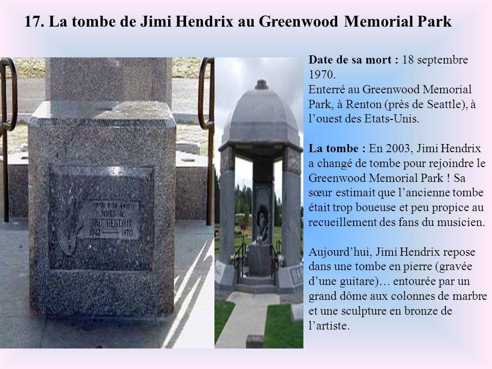Date de sa mort : 22 novembre 1963. Enterré au cimetière national d'Arlington, en Virginie, à l'est des Etats-Unis. La tombe : La tombe de John Fitzge