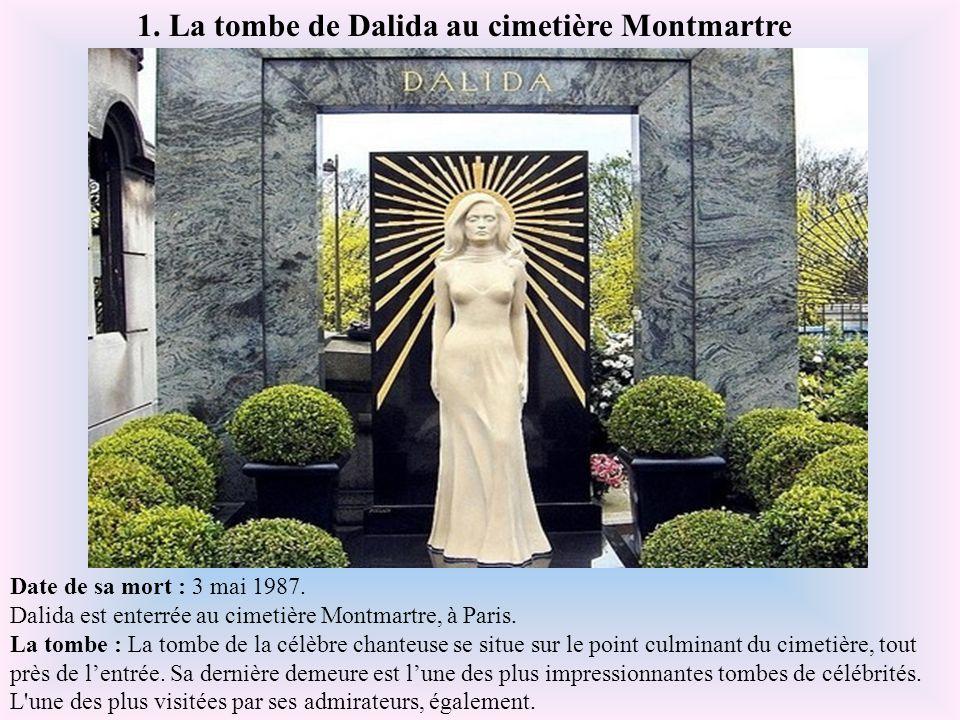 A quoi ressemblent les tombes des célébrités ? Statues, bustes, piscines, portraits, gravures, certaines sont de véritables monuments, d'autres jouent