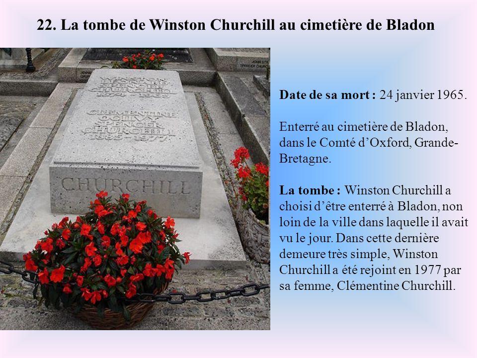 Date de sa mort : 22 janvier 2004. Enterré au cimetière du Père Lachaise, Paris. La tombe : Au dessus de la tombe très classique trône un buste de l'a