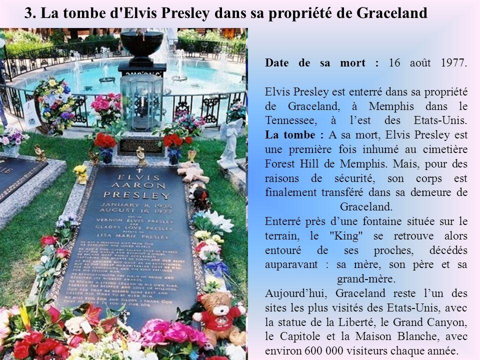 Date de sa mort : 11 mars 1978. Claude François est enterré au cimetière de Dannemois, dans l'Essonne (Ile-de-France). La tombe : Claude François a ét