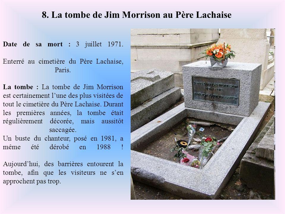 Date de leur mort : Yves Montand, décédé le 9 novembre 1991 Simone Signoret, décédée le 30 septembre 1985. Ils sont enterrés ensemble au cimetière du
