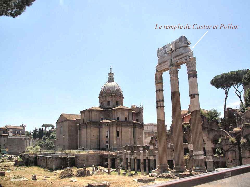 L arc de triomphe de Septime Sévère