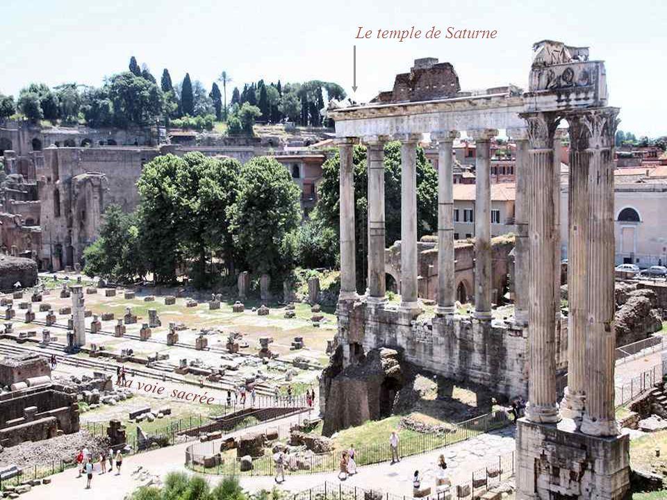 Le temple de Castor et Pollux