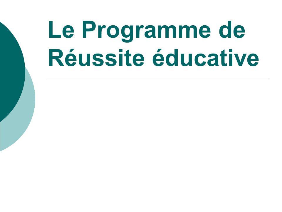  La structure juridique support favorise la mise en cohérence de tous les dispositifs concourant à la réussite éducative sur le territoire communal Le Programme de Réussite Educative: Les Modalités