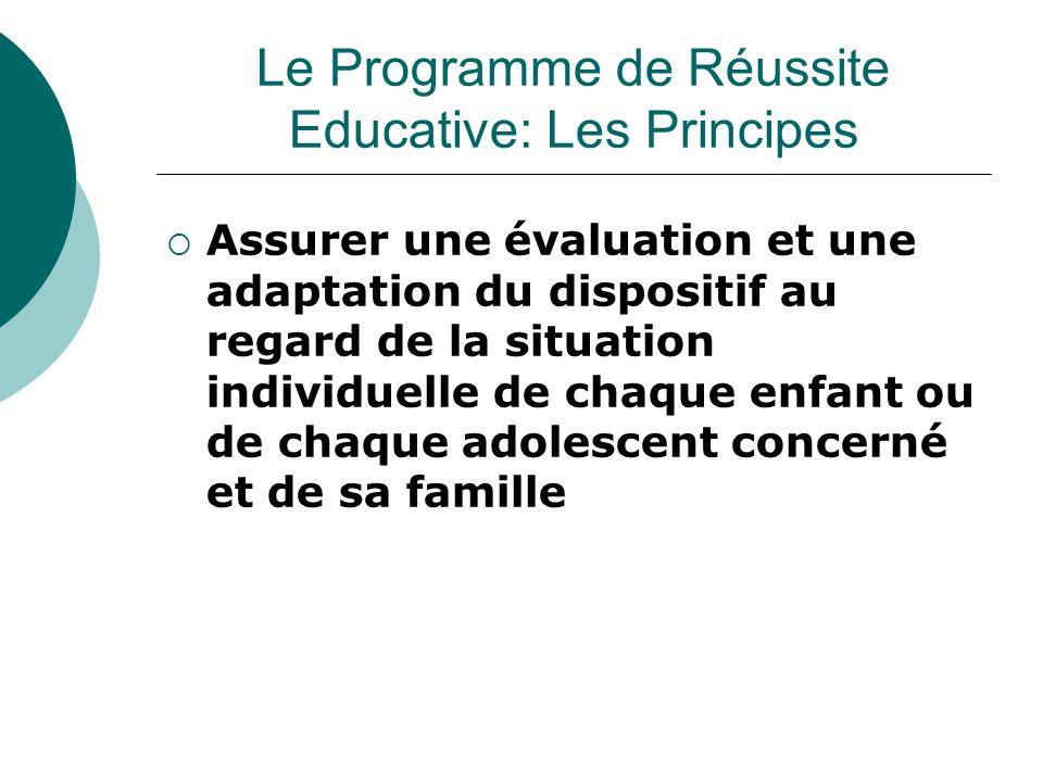  Assurer une évaluation et une adaptation du dispositif au regard de la situation individuelle de chaque enfant ou de chaque adolescent concerné et d