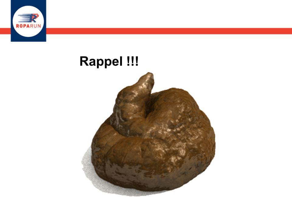 Rappel !!!