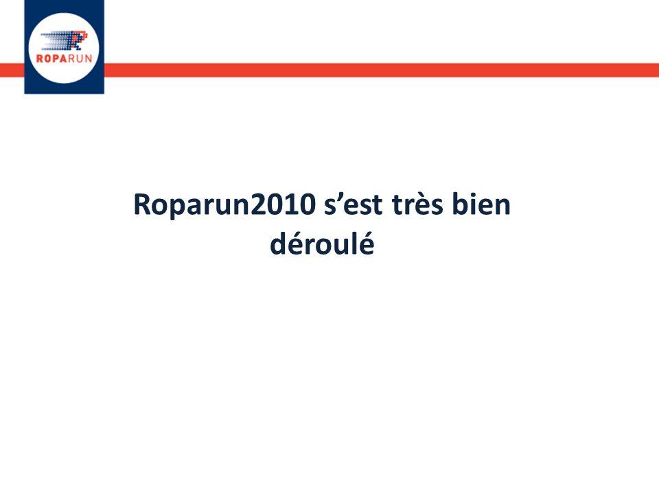 Roparun2010 s'est très bien déroulé