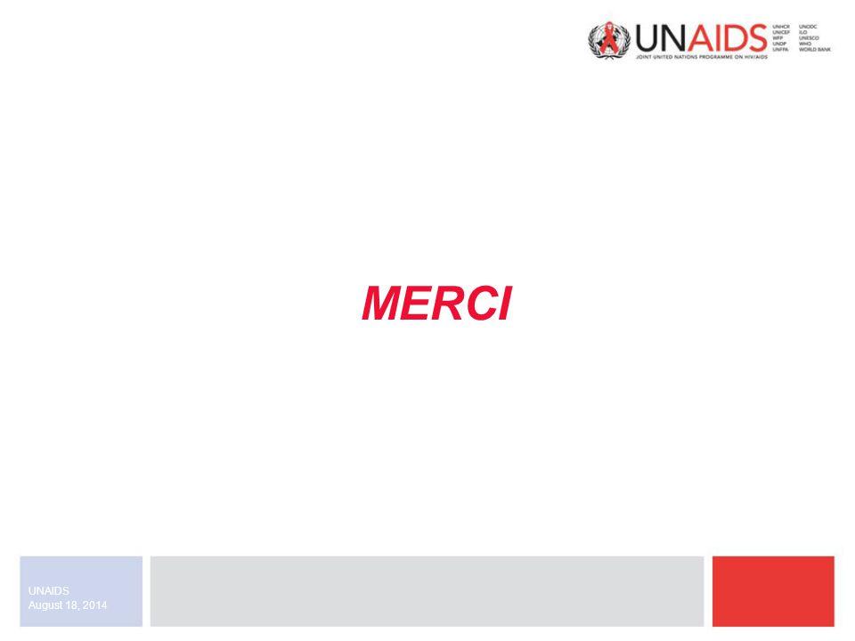 August 18, 2014 UNAIDS MERCI