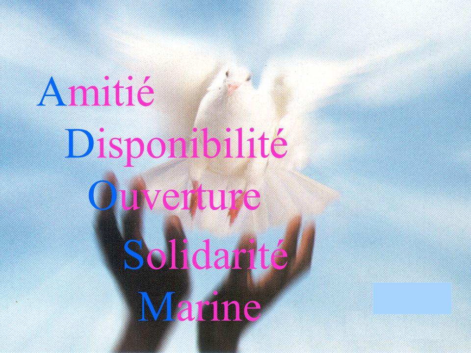 Amitié Disponibilité Ouverture Solidarité Marine