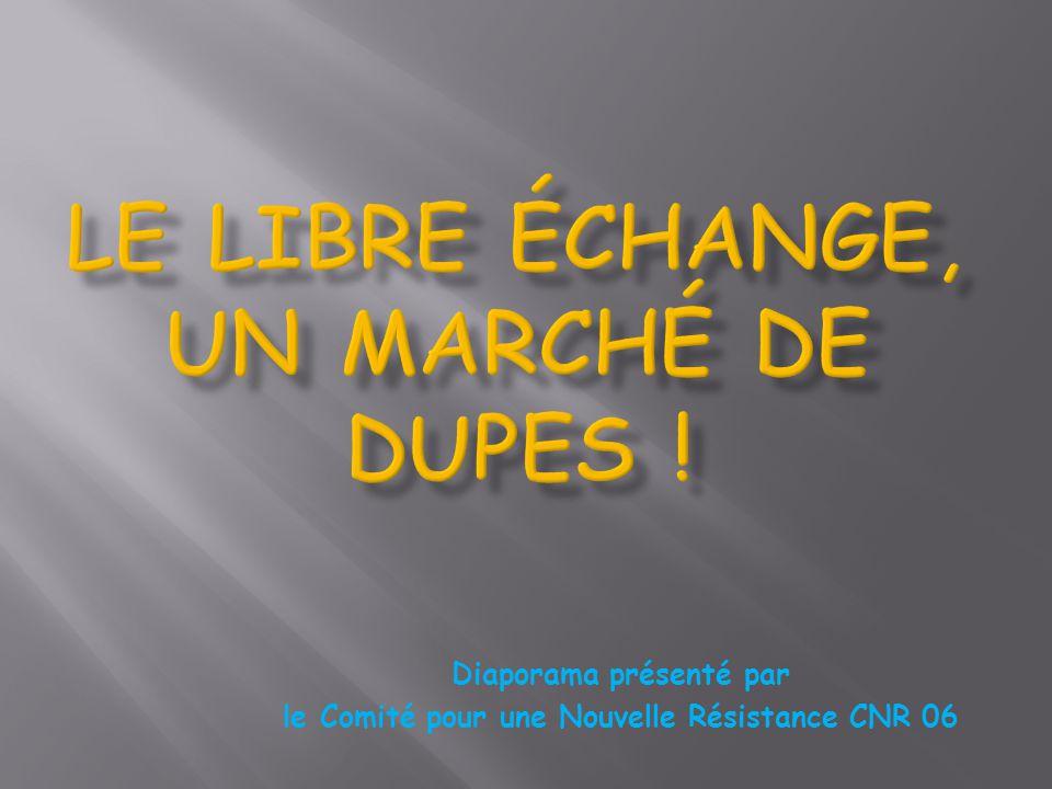 Diaporama présenté par le Comité pour une Nouvelle Résistance CNR 06
