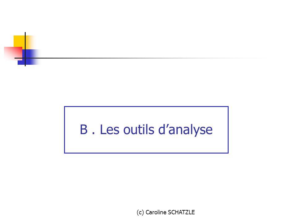 (c) Caroline SCHATZLE B. Les outils d'analyse
