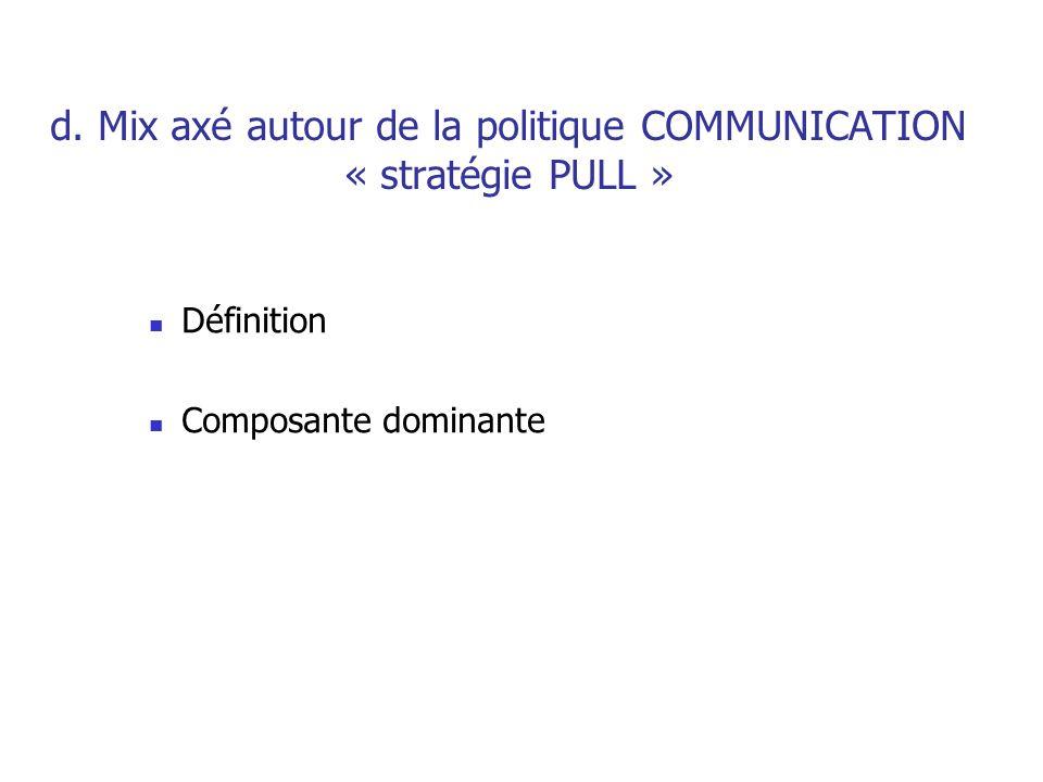 (c) Caroline SCHATZLE D. Formulation et évaluation du Mix Marketing