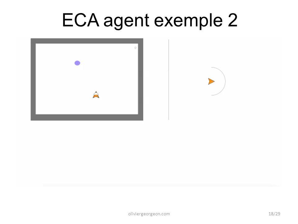 ECA agent exemple 2 oliviergeorgeon.com18/29