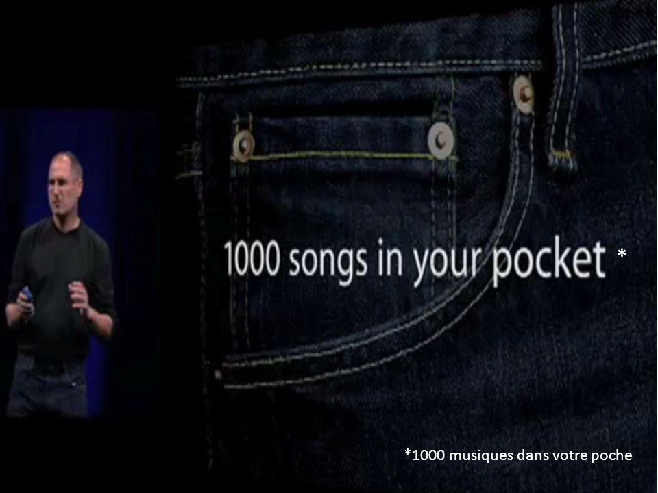*1000 musiques dans votre poche *