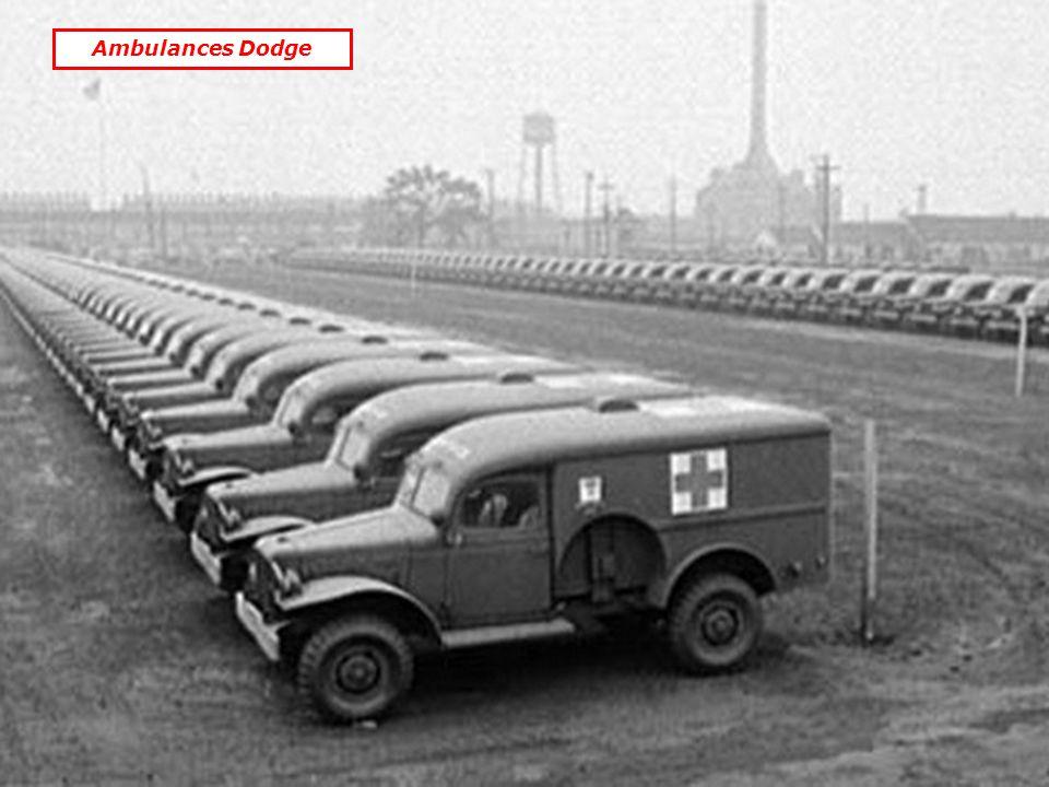 Ambulances Dodge