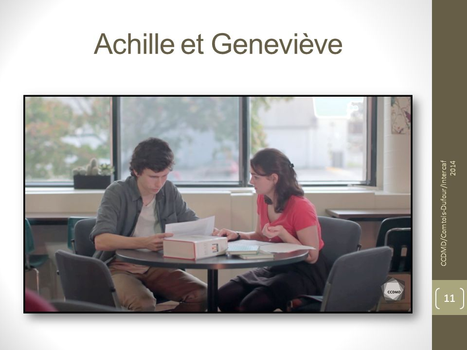 Achille et Geneviève CCDMD/Comtois-Dufour/Intercaf 2014 11