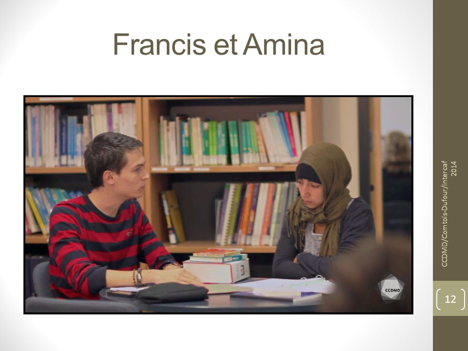 Francis et Amina CCDMD/Comtois-Dufour/Intercaf 2014 12